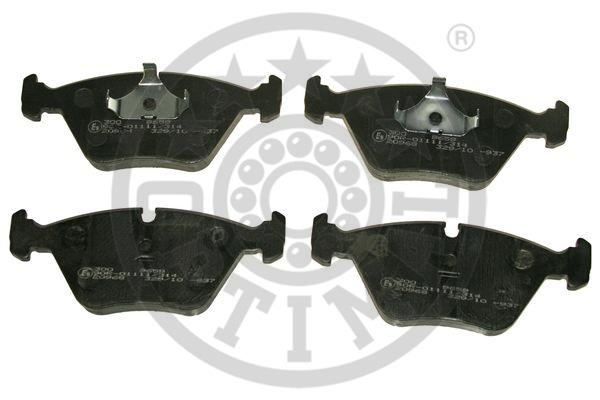 Kit de plaquettes de frein, frein à disque - OPTIMAL - 9659