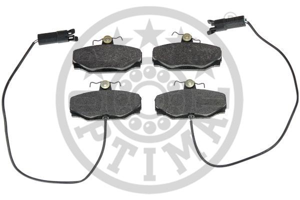 Kit de plaquettes de frein, frein à disque - OPTIMAL - 9667