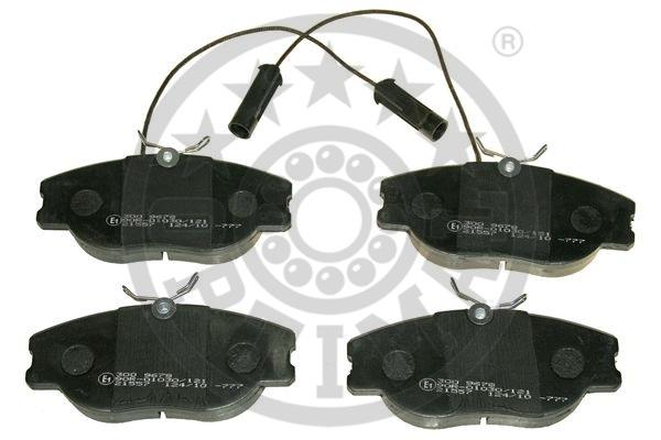 Kit de plaquettes de frein, frein à disque - OPTIMAL - 9678