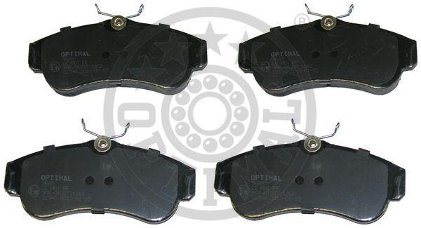 Kit de plaquettes de frein, frein à disque - OPTIMAL - 9689