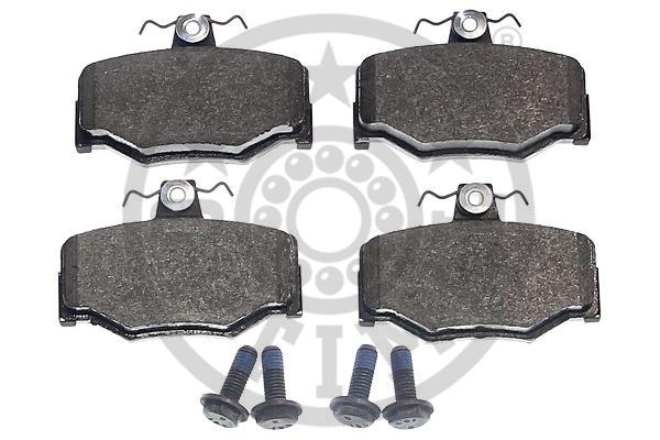 Kit de plaquettes de frein, frein à disque - OPTIMAL - 9690