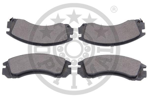 Kit de plaquettes de frein, frein à disque - OPTIMAL - 9711
