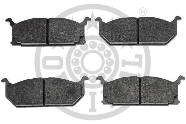 Kit de plaquettes de frein, frein à disque - OPTIMAL - 9715