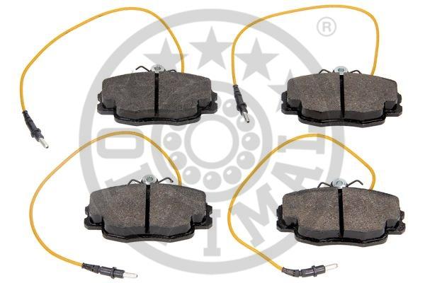 Kit de plaquettes de frein, frein à disque - OPTIMAL - 9749