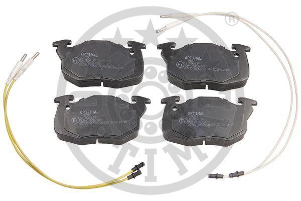 Kit de plaquettes de frein, frein à disque - OPTIMAL - 9750