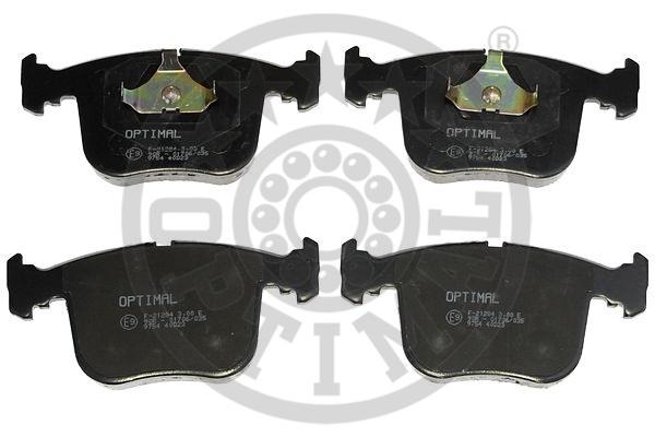 Kit de plaquettes de frein, frein à disque - OPTIMAL - 9754