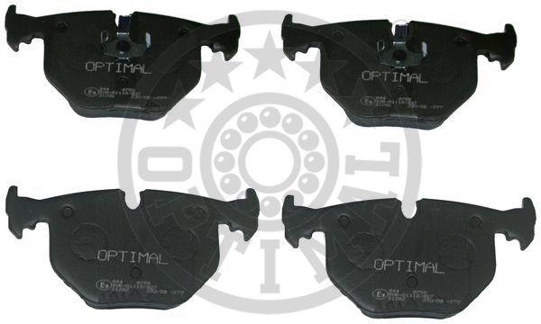 Kit de plaquettes de frein, frein à disque - OPTIMAL - 9755