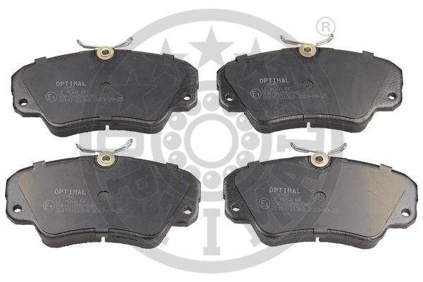 Kit de plaquettes de frein, frein à disque - OPTIMAL - 9756