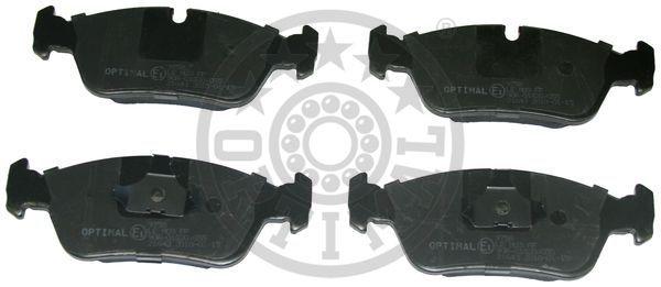 Kit de plaquettes de frein, frein à disque - OPTIMAL - 9758