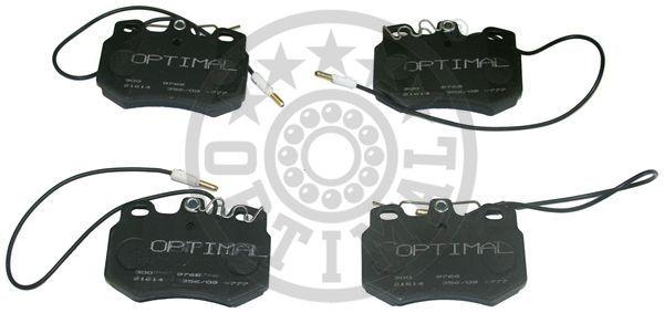Kit de plaquettes de frein, frein à disque - OPTIMAL - 9766