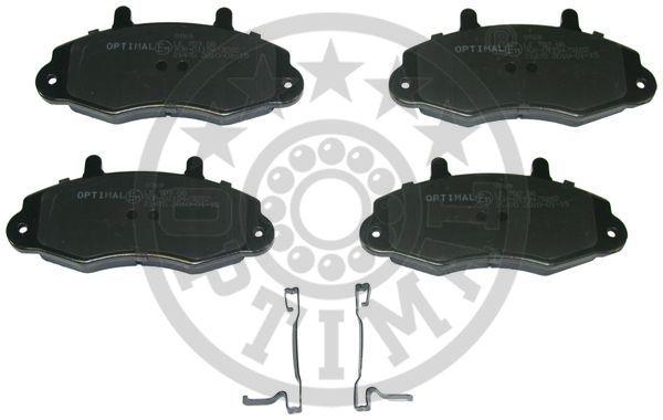 Kit de plaquettes de frein, frein à disque - OPTIMAL - 9769