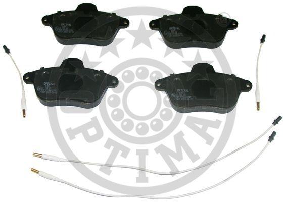 Kit de plaquettes de frein, frein à disque - OPTIMAL - 9783