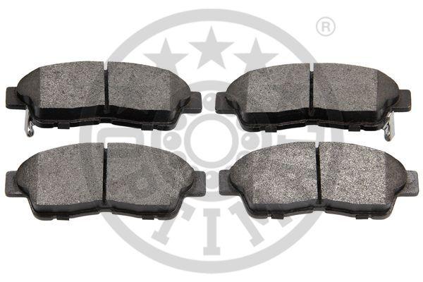 Kit de plaquettes de frein, frein à disque - OPTIMAL - 9787