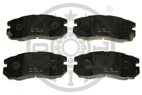 Kit de plaquettes de frein, frein à disque - OPTIMAL - 9788