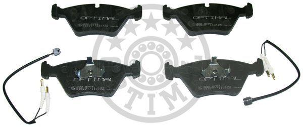 Kit de plaquettes de frein, frein à disque - OPTIMAL - 9794