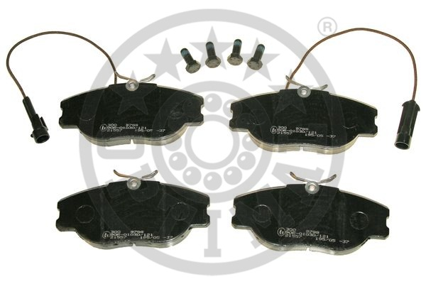 Kit de plaquettes de frein, frein à disque - OPTIMAL - 9799
