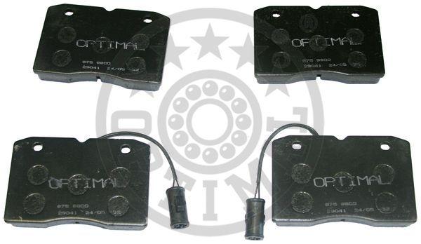 Kit de plaquettes de frein, frein à disque - OPTIMAL - 9800