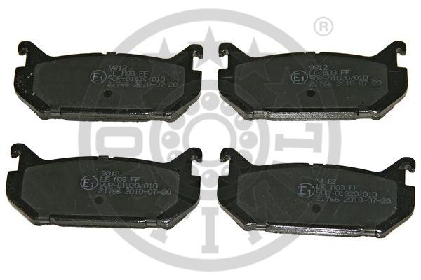 Kit de plaquettes de frein, frein à disque - OPTIMAL - 9812