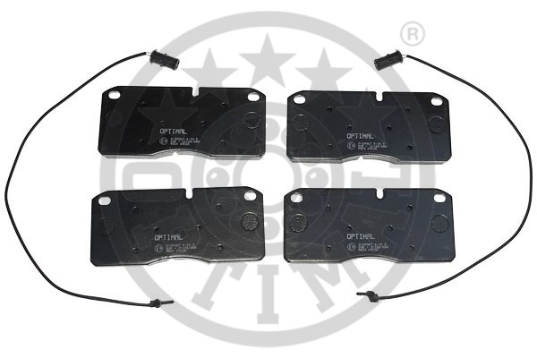 Kit de plaquettes de frein, frein à disque - OPTIMAL - 9820