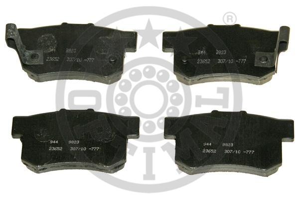 Kit de plaquettes de frein, frein à disque - OPTIMAL - 9823