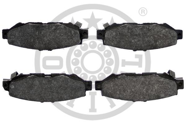 Kit de plaquettes de frein, frein à disque - OPTIMAL - 9826