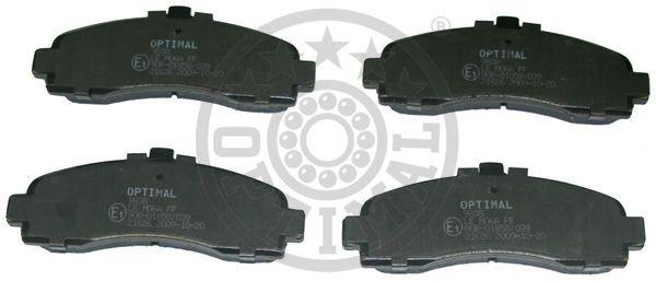 Kit de plaquettes de frein, frein à disque - OPTIMAL - 9838