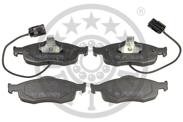 Kit de plaquettes de frein, frein à disque - OPTIMAL - 9839