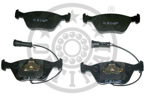 Kit de plaquettes de frein, frein à disque - OPTIMAL - 9855