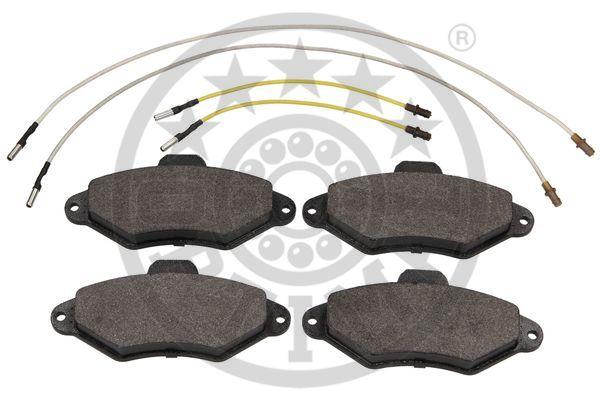Kit de plaquettes de frein, frein à disque - OPTIMAL - 9856