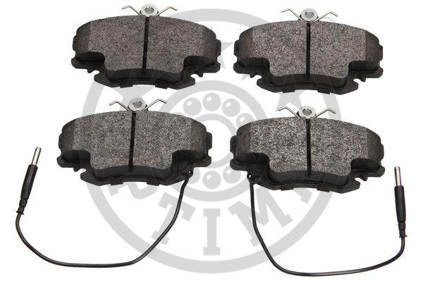 Kit de plaquettes de frein, frein à disque - OPTIMAL - 9870