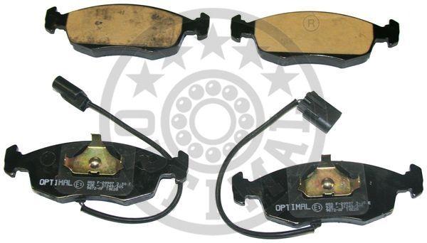 Kit de plaquettes de frein, frein à disque - OPTIMAL - 9872