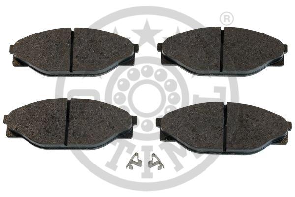 Kit de plaquettes de frein, frein à disque - OPTIMAL - 9874