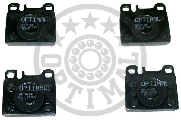 Kit de plaquettes de frein, frein à disque - OPTIMAL - 9879
