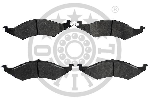 Kit de plaquettes de frein, frein à disque - OPTIMAL - 9885