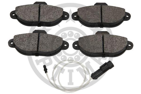 Kit de plaquettes de frein, frein à disque - OPTIMAL - 9898