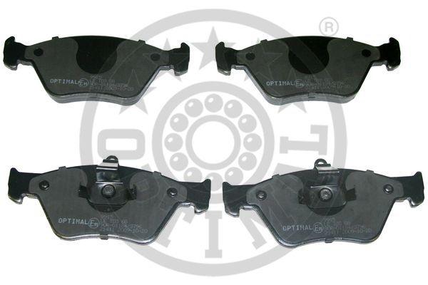 Kit de plaquettes de frein, frein à disque - OPTIMAL - 9915