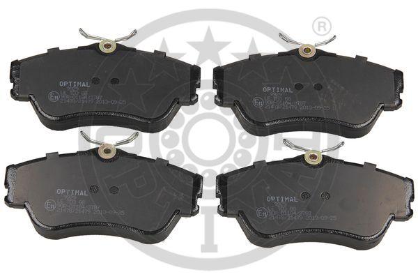 Kit de plaquettes de frein, frein à disque - OPTIMAL - 9929