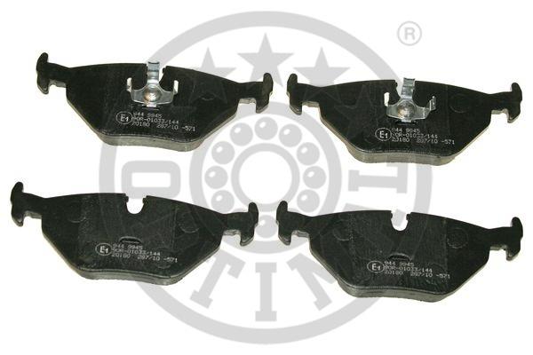 Kit de plaquettes de frein, frein à disque - OPTIMAL - 9945