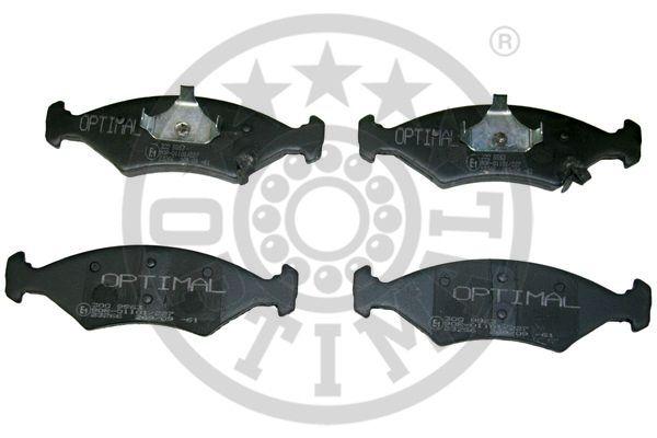 Kit de plaquettes de frein, frein à disque - OPTIMAL - 9963