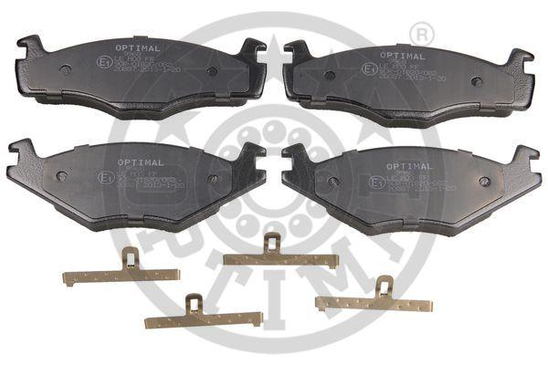 Kit de plaquettes de frein, frein à disque - OPTIMAL - 9968