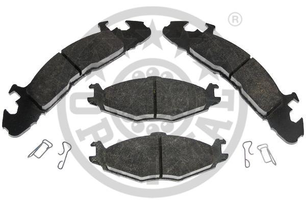 Kit de plaquettes de frein, frein à disque - OPTIMAL - 9988