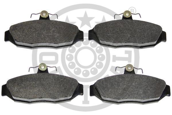 Kit de plaquettes de frein, frein à disque - OPTIMAL - 9992