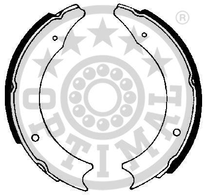 Jeu de mâchoires de frein - OPTIMAL - BB-0020
