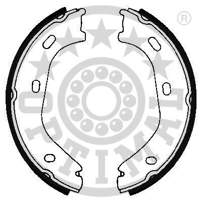 Jeu de mâchoires de frein - OPTIMAL - BB-0580