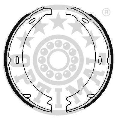 Jeu de mâchoires de frein - OPTIMAL - BB-0930