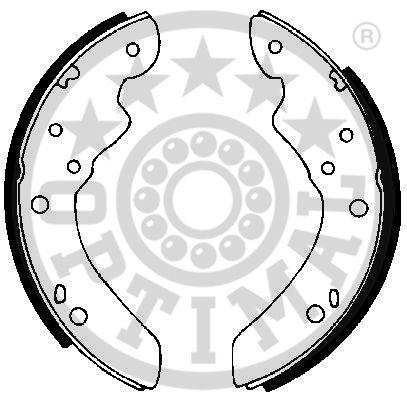 Jeu de mâchoires de frein - OPTIMAL - BB-2141