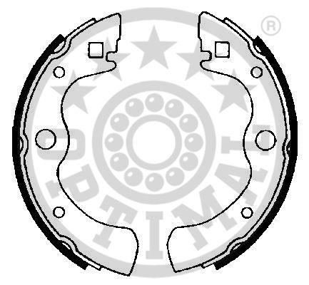 Jeu de mâchoires de frein - OPTIMAL - BB-3230