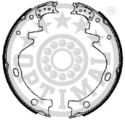 Jeu de mâchoires de frein - OPTIMAL - BB-3350