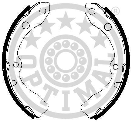 Jeu de mâchoires de frein - OPTIMAL - BB-3590