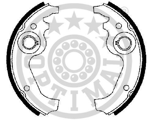 Jeu de mâchoires de frein - OPTIMAL - BB-6110